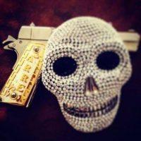 5. Exóticas armas de lujo Foto:Instagram.com/explore/tags/narco/