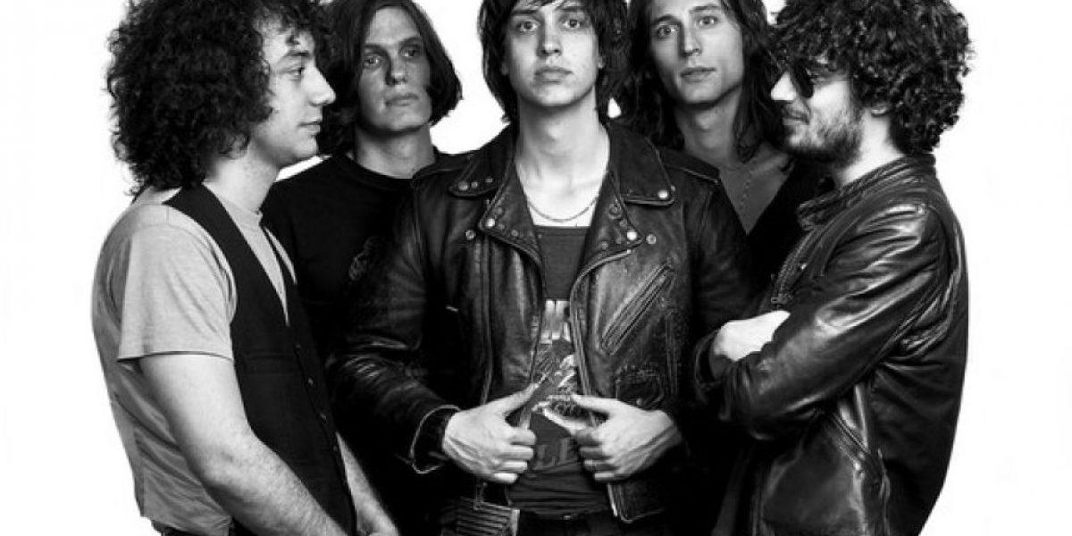 Fotos: Así cambiaron los integrantes de la famosa banda The Strokes