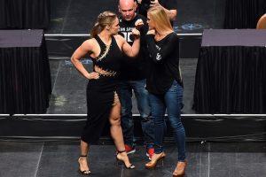La pelea será el próximo 14 de noviembre en Australia, durante UFC 193. Foto:Getty Images