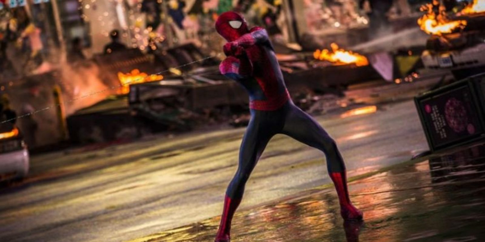 """Fue en la película """"The Amazing Spiderman"""" que mostró una versión más fresca del héroe de Marvel. Foto:vía facebook.com/spiderman"""