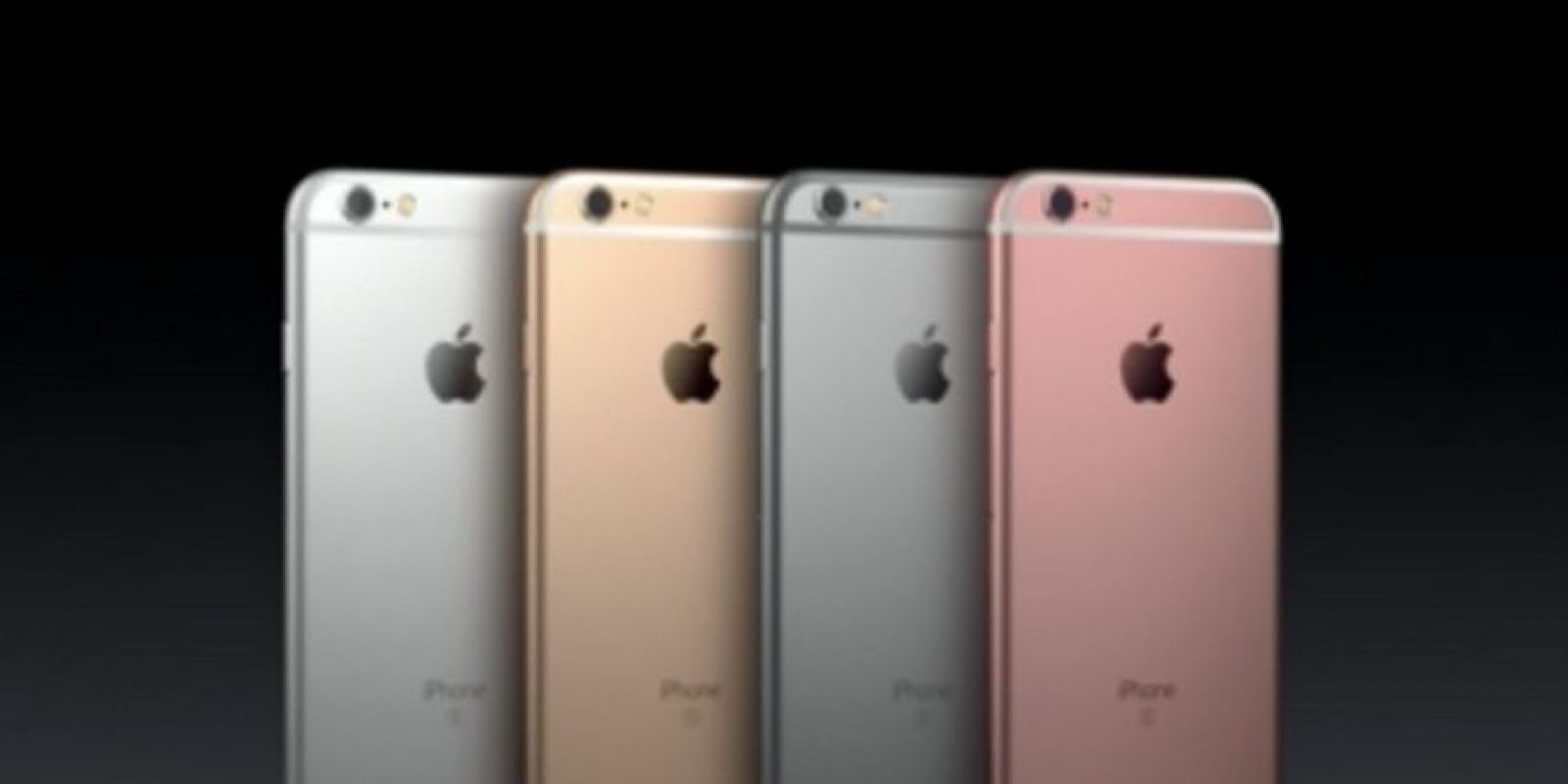 iPhone 6s y iPhone 6s Plus (2015) Foto: Apple