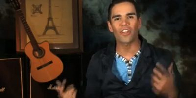 Tiene a Emir Pabón, cantante del grupo Cañaveral, a un gemelo perdido Foto:Twitter