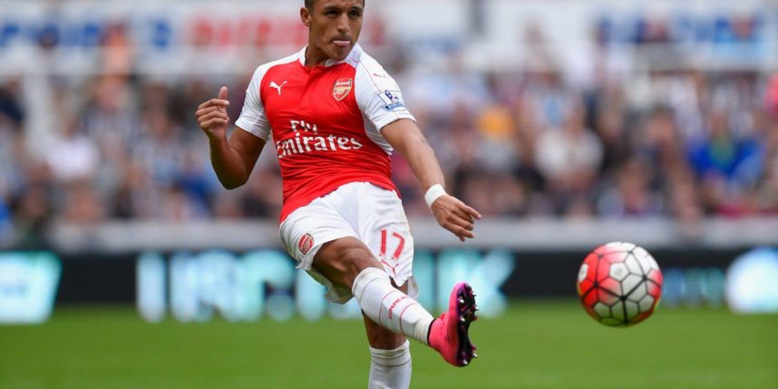 6. Alexis Sánchez (Chile, Arsenal) Foto:Getty Images