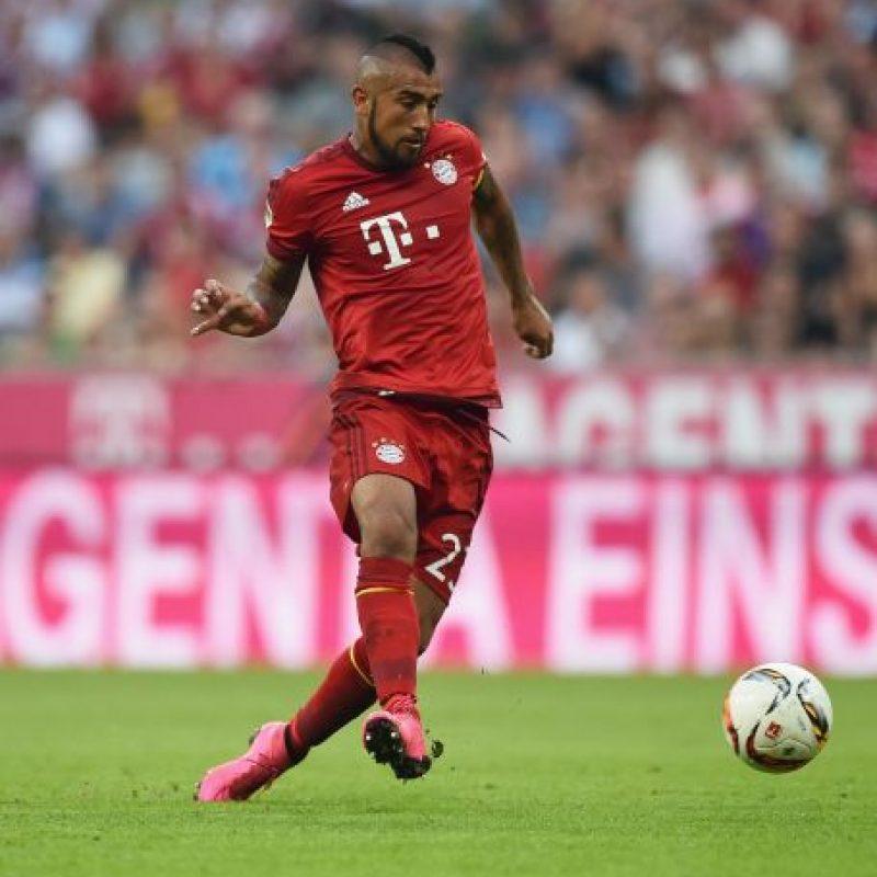 """10. Arturo Vidal (Bayern Múnich, Chile). El líder de la """"Roja"""" se cotiza en 42 millones de euros Foto:Getty Images"""