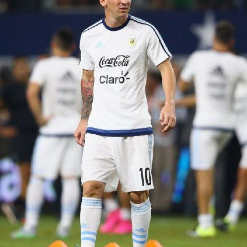 1. Lionel Messi (Argentina, Barcelona) Foto:Getty Images