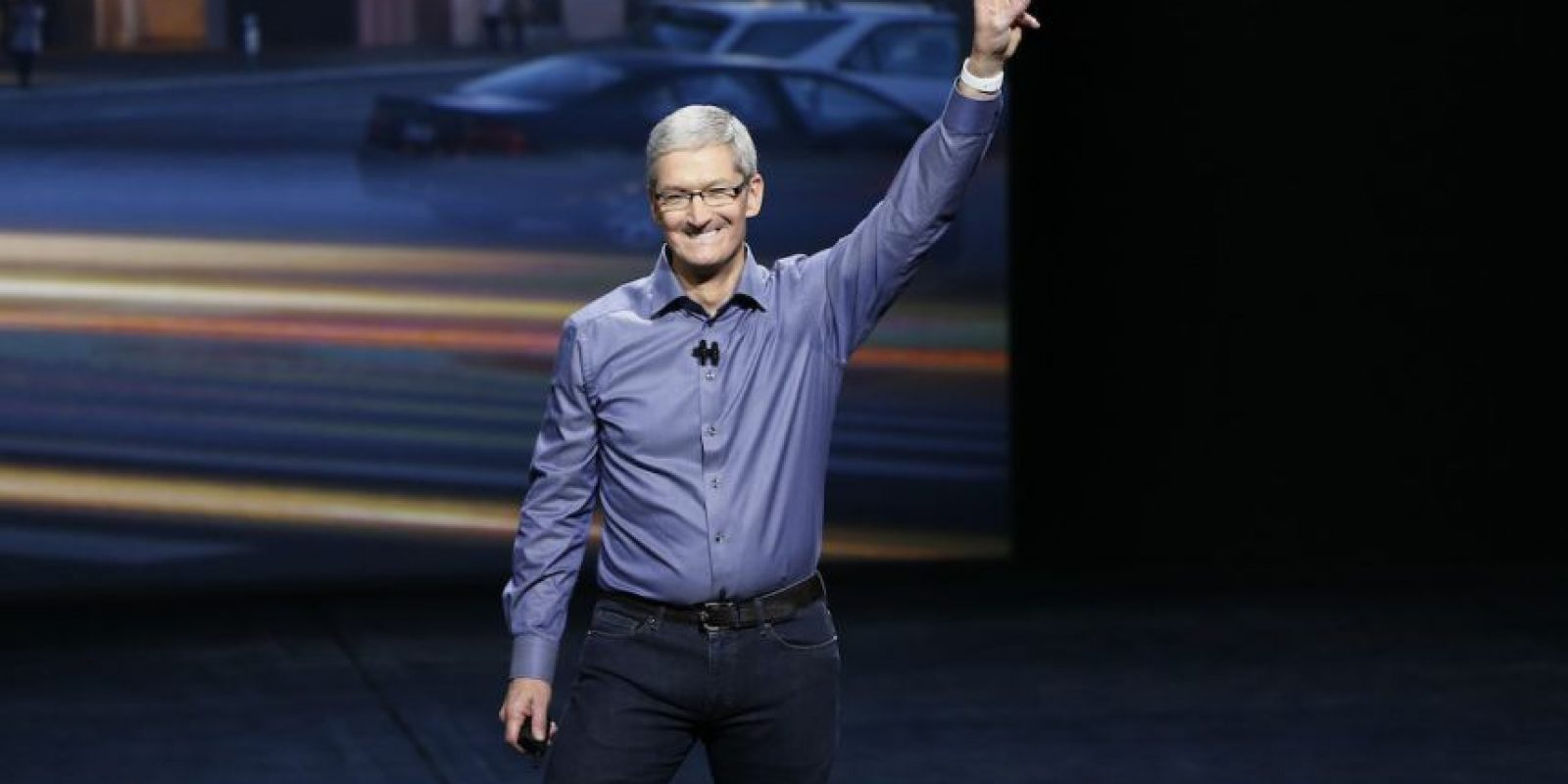 Tim Cook, CEO de Apple, estuvo en el Bill Graham Civic Auditorium. Foto: Getty Images