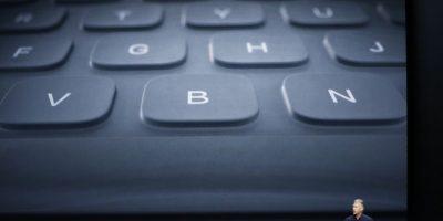 """Cuenta con un """"Smart Keyboard"""" para ayudar a la escritura. Foto:Getty Images"""