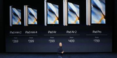 Los precios de las iPads. Foto:Getty Images
