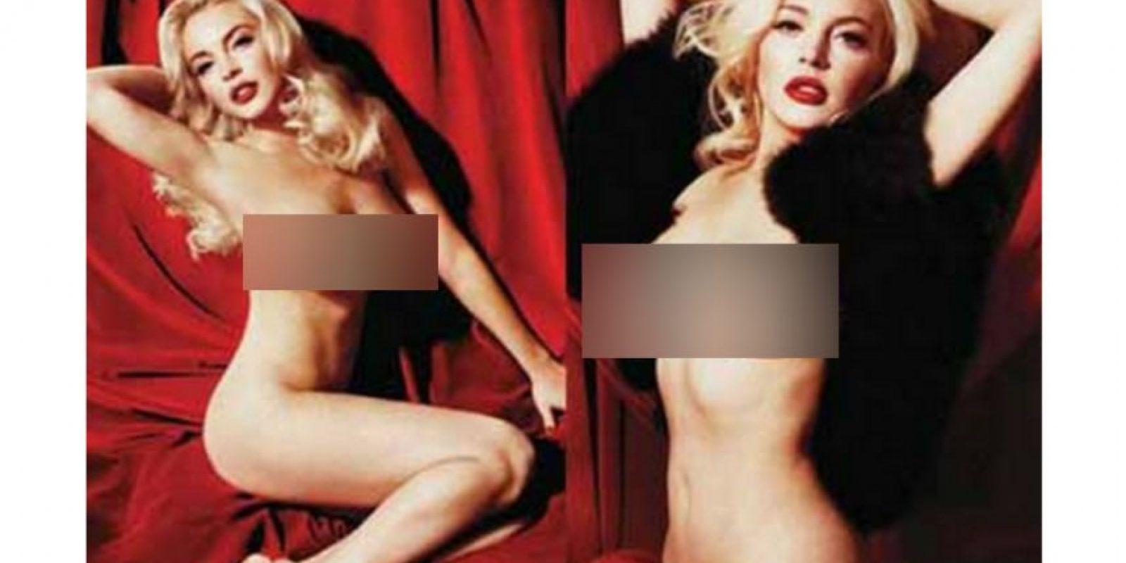 """Lo hizo para """"Playboy"""" en 2011 Foto:Playboy"""
