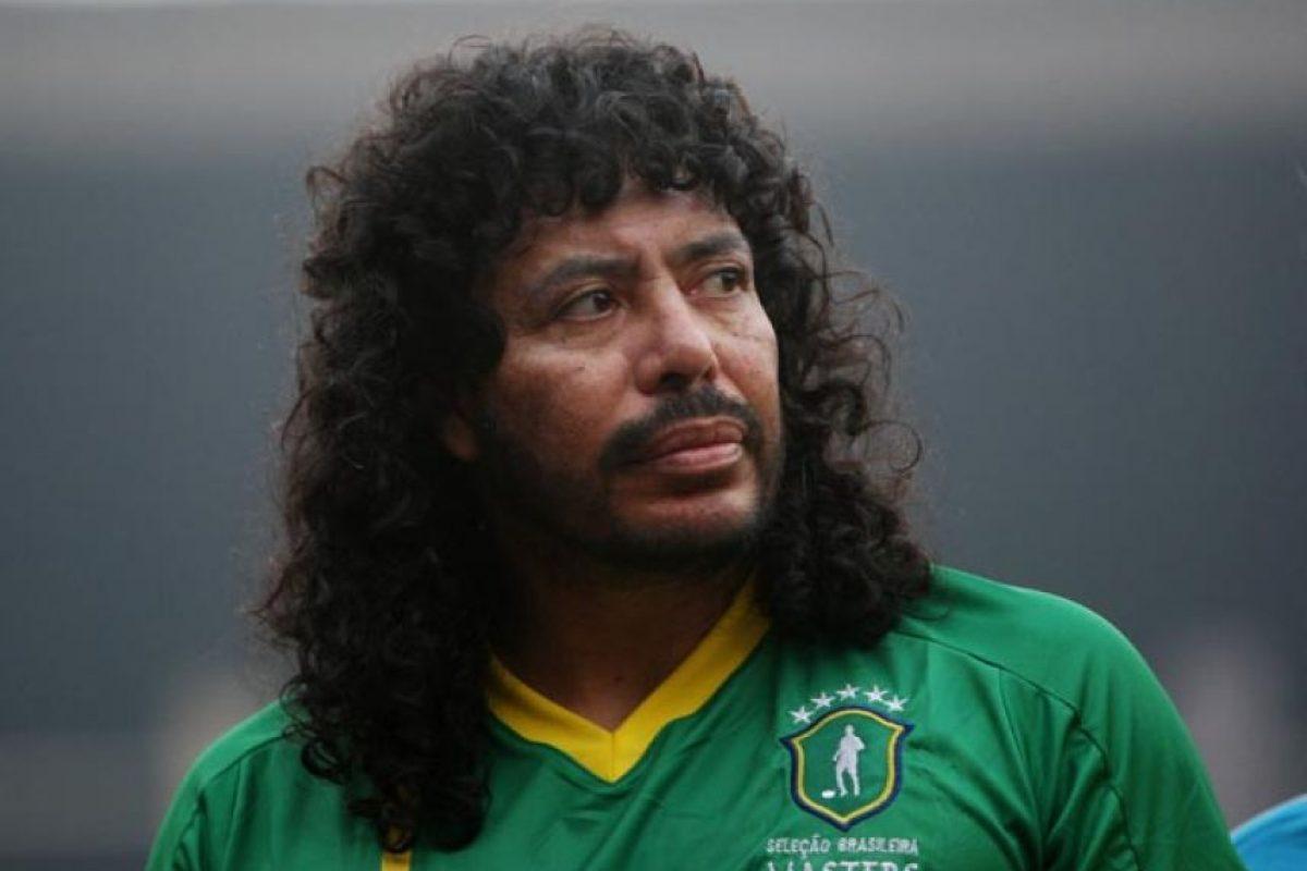El exportero colombiano René Higuita Foto:Getty Images