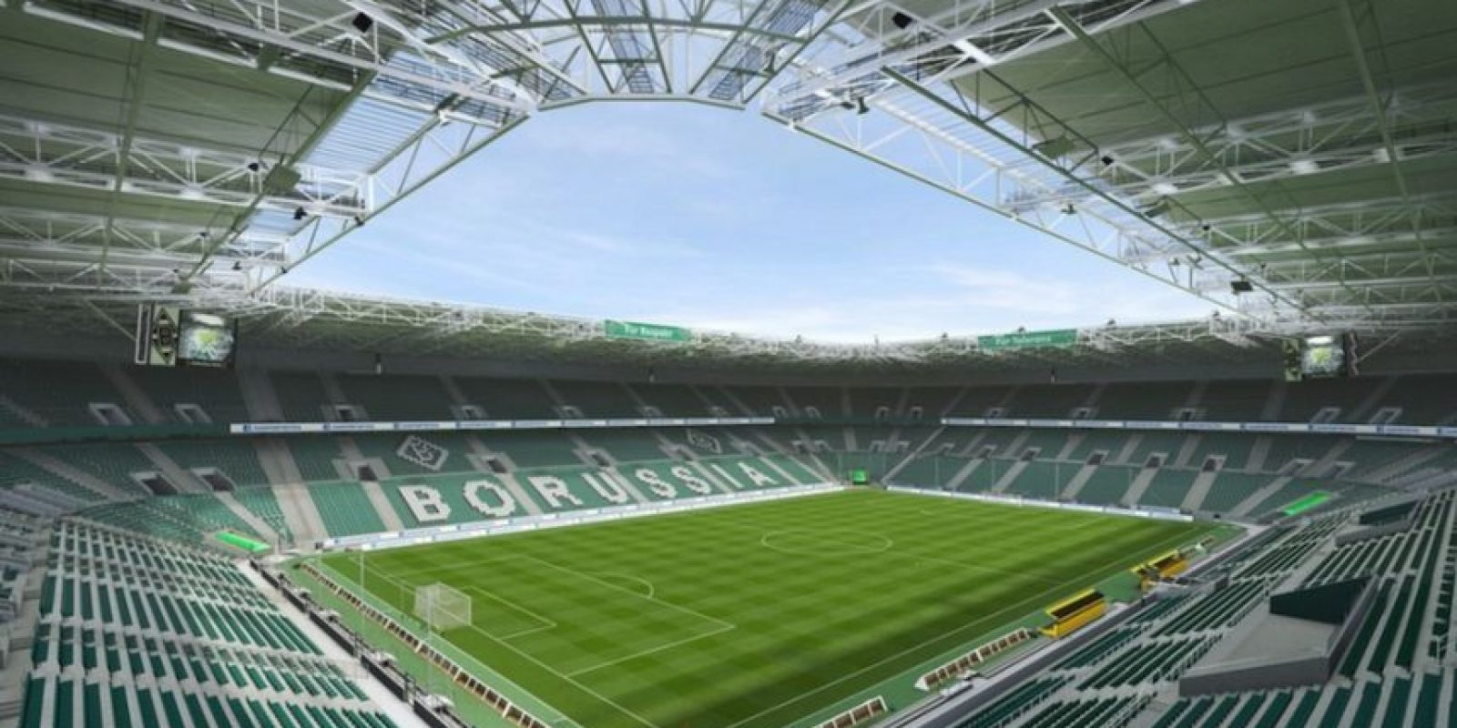 BORUSSIA-PARK (Borussia Mönchengladbach, Bundesliga) Foto:EA Sports