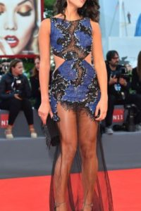 Este vestido recuerda a las patinadoras artísticas. Foto:vía Getty Images