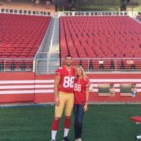 6. Sarah Hinton (Garret Celek/San Francisco 49ers) Foto:Vía instagram.com/sarahcelek