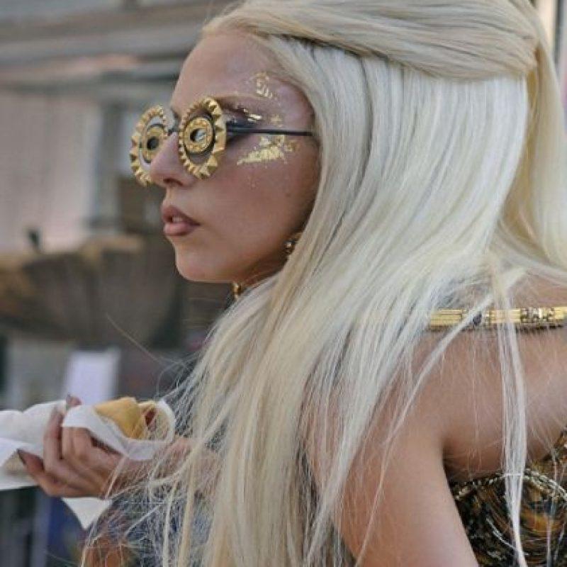 Las extensiones de Lady Gaga siempre llaman la atención…. Foto:Imgur