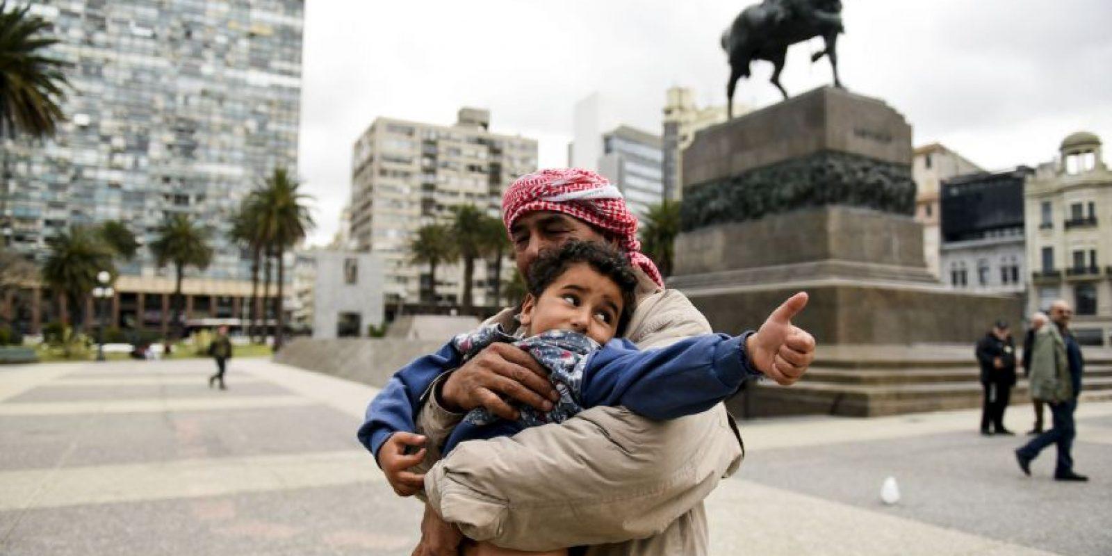 Los refugiados han mantenido encuentros con representantes del gobierno de Uruguay, con quienes han tratado el asunto de su salida. Foto:AP