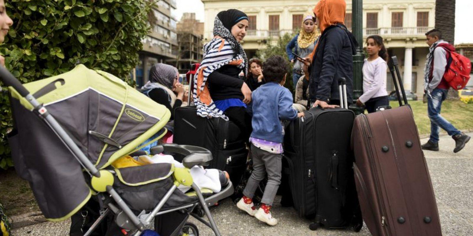 El plan impulsado por el expresidente José Mujica está en espera de que lleguen al menos otros 70 refugiados. Foto:AP