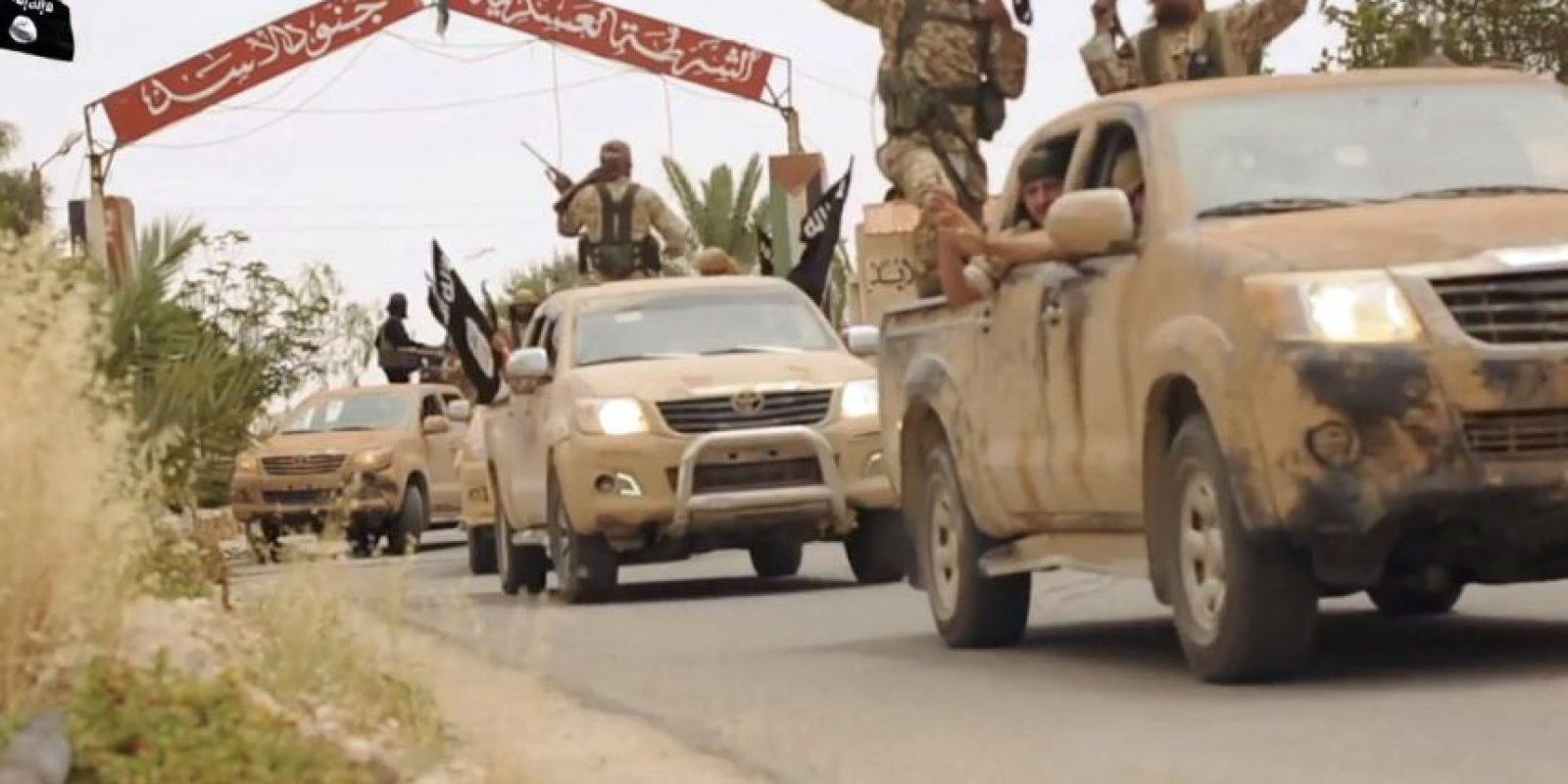 Al Qaeda a proveído la mayoría de las tropas para esta batalla. Foto:AFP