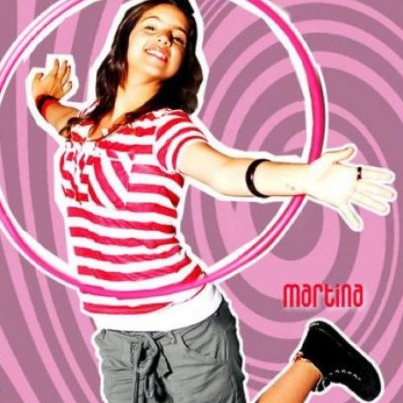 """Interpretó a la joven """"Martina Castro"""". Foto:Disney"""