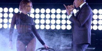 Así reacciona el esposo de Beyoncé cuando la ve sobre el escenario