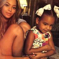 En 2012, dio a luz a su hija Blue Ivy Carter, que ahora tiene tres años. Foto:vía instagram.com/beyonce
