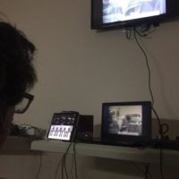 """""""Charly está haciendo música en la pieza de una clínica. ¡Un maestro!"""", confesó Palazzo. Foto:vía twitter.com/josedpalazzo"""