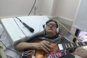 A mediados de julio, el rockero fue internado por una fisura en su cadera. Foto:vía twitter.com/josedpalazzo
