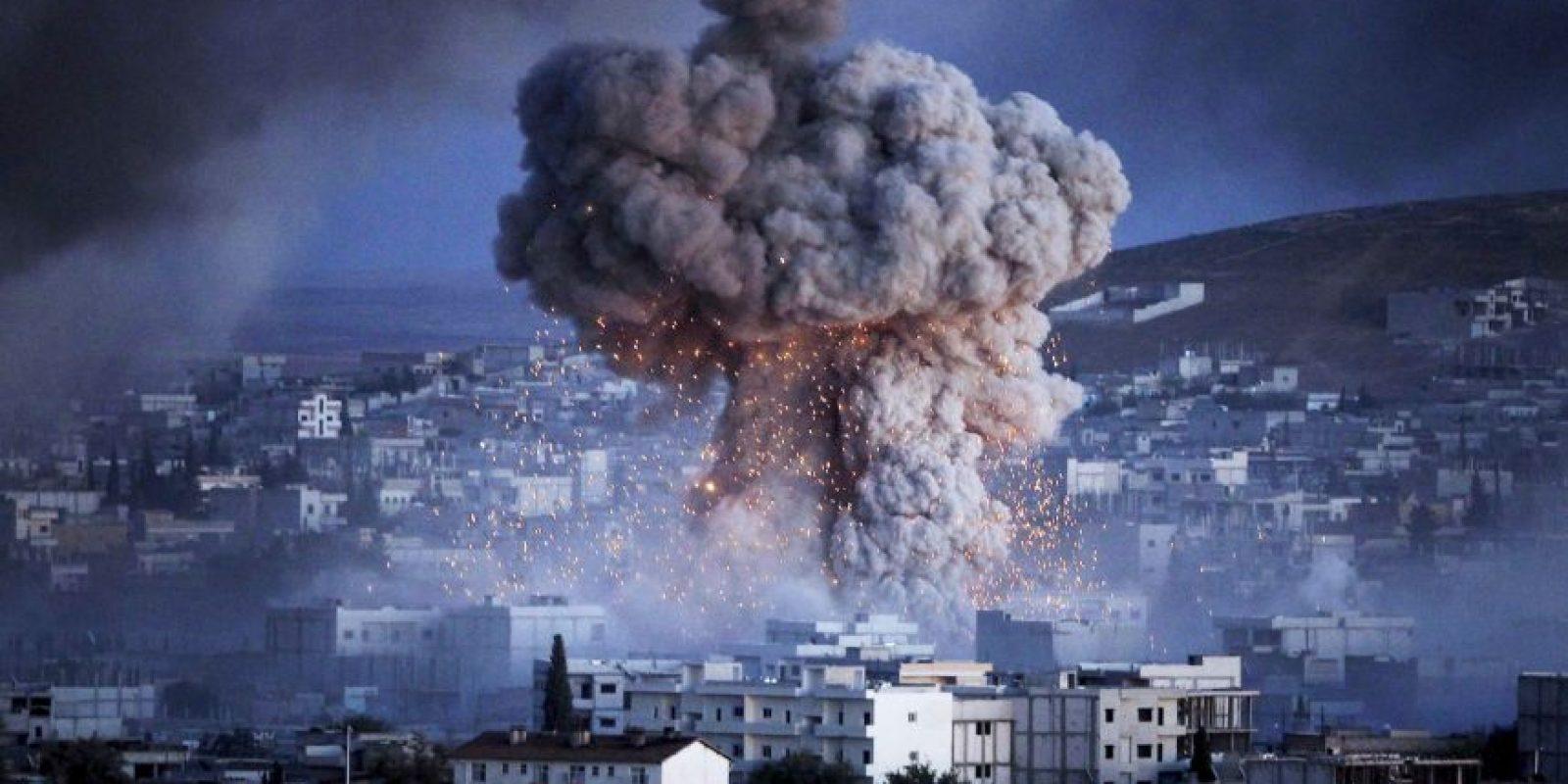Probablemente el régimen sirio intentará bombardear a los rebeldes. Foto:Getty Images