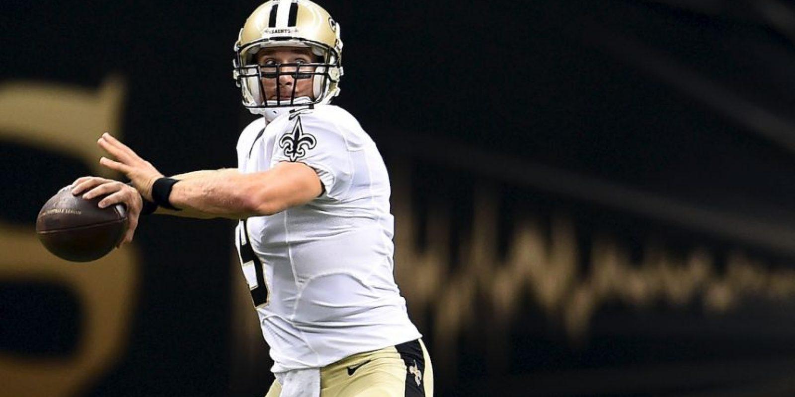 El quarterback de los New Orleans Saints percibe 26.4 millones de dólares; es el mejor pagado de la NFL Foto:Getty Images