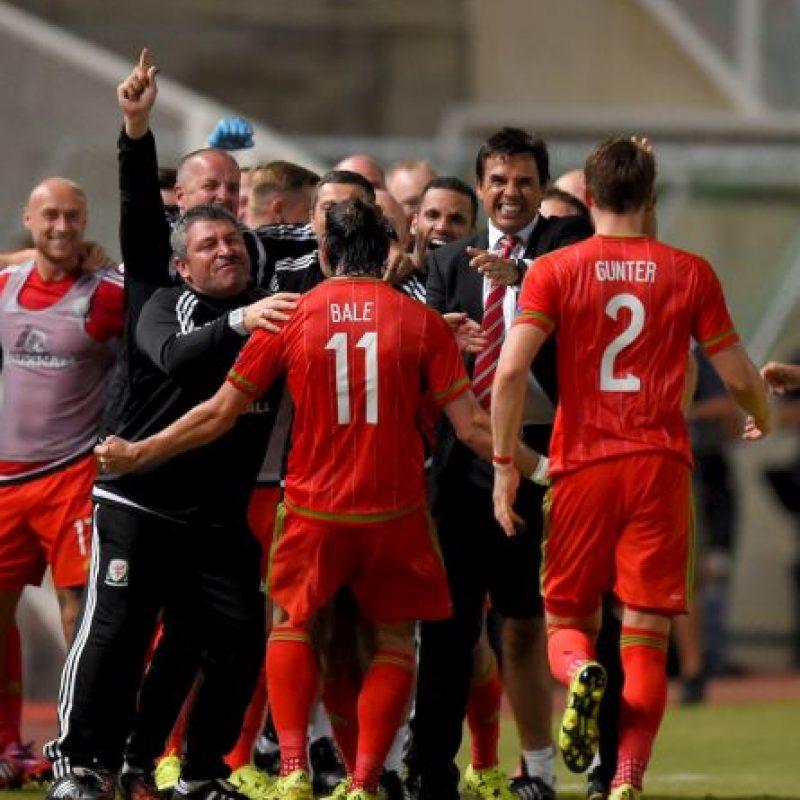 Después del 0-0 ante Israel, Gales aseguró cuando menos los play-offs. Foto:Getty Images