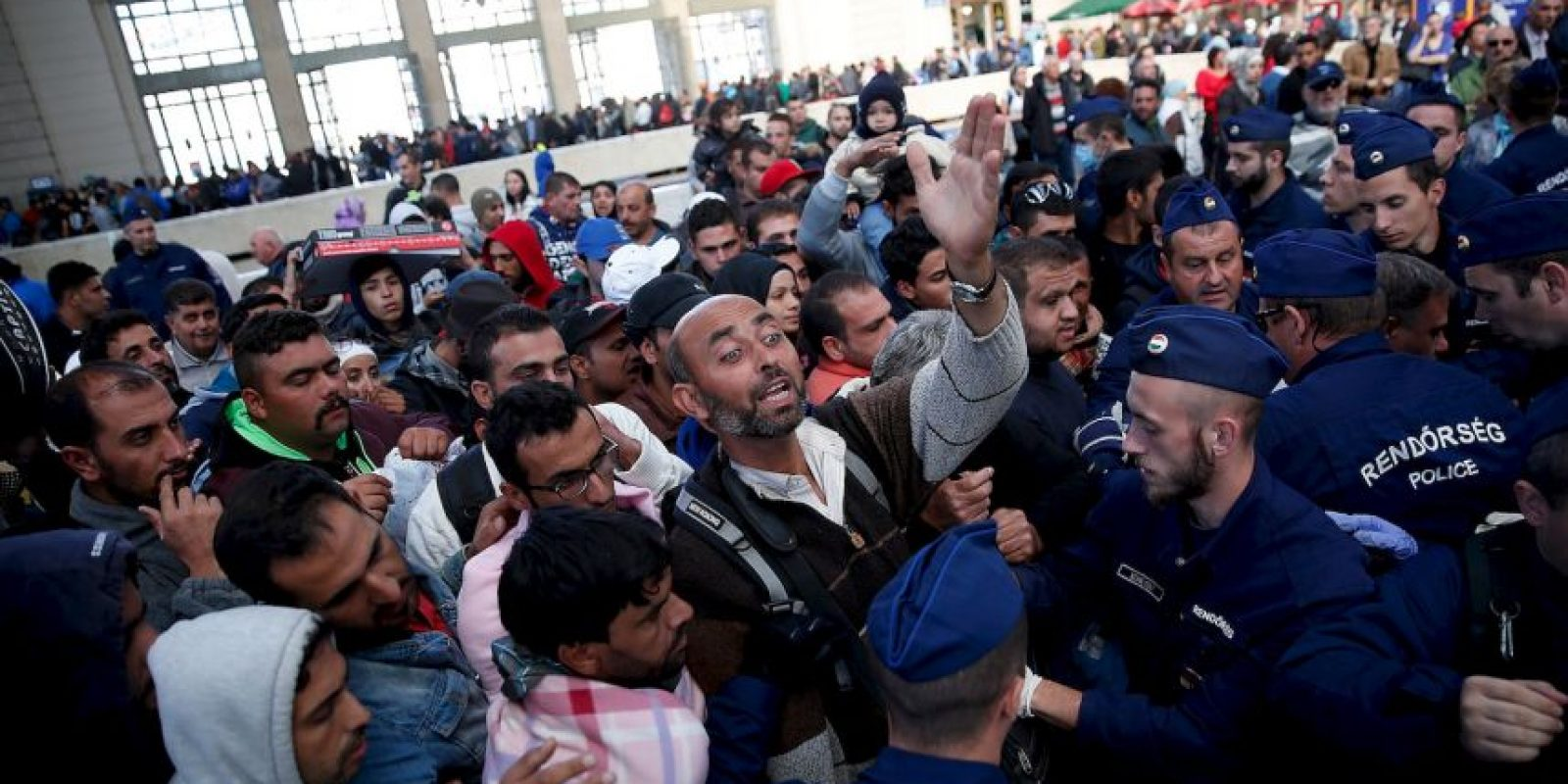 3. Británicos abren sus casas a los refugiados Foto:Getty Images