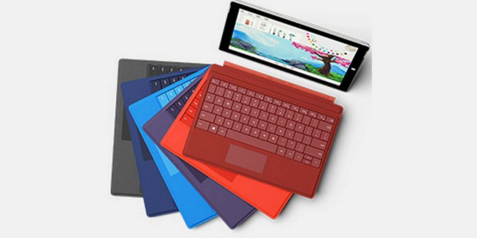 Microsoft Surface es una serie de tabletas diseñadas y comercializadas por Microsoft Foto:Microsoft