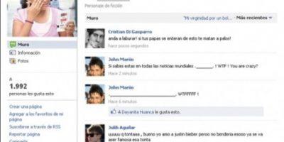 Este grupo de Facebook supuestamente se hizo viral cuando Bieber fue a México. Foto:vía Facebook