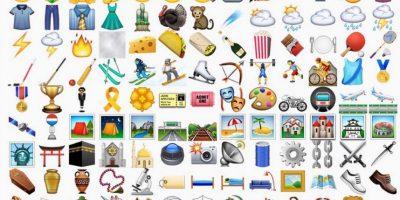 Estos son todos los emojis nuevos para iPhone Foto:iOS 9