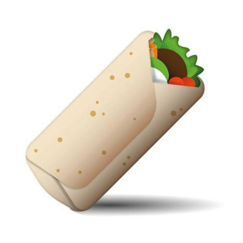 Burrito Foto:Emojipedia