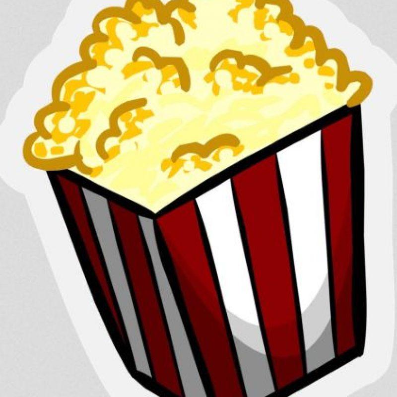 Bolsa con palomitas de maíz Foto:Emojipedia