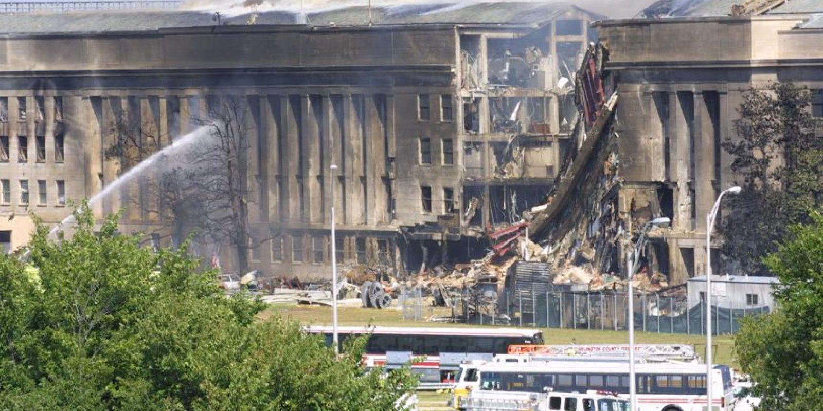 El ataque al Pentágono Foto:Getty Images