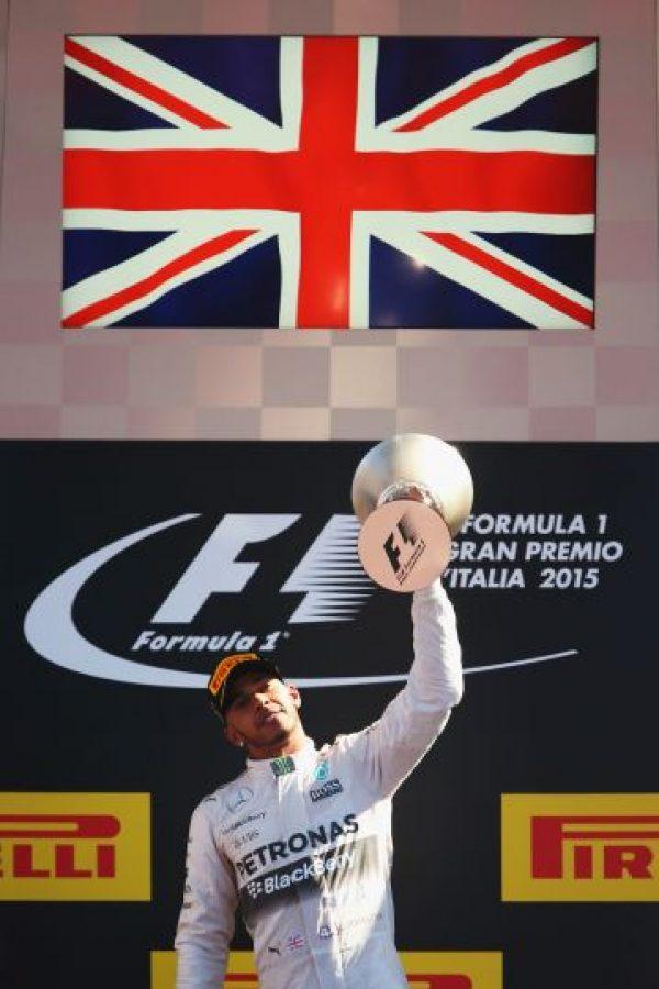 Es el actual monarca y líder de la F1 Foto:Getty Images