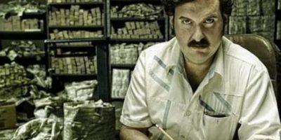 """Pablo Escobar en """"Escobar, el patrón del mal"""" Foto:Vía acebook.com/SoyAndresParra"""
