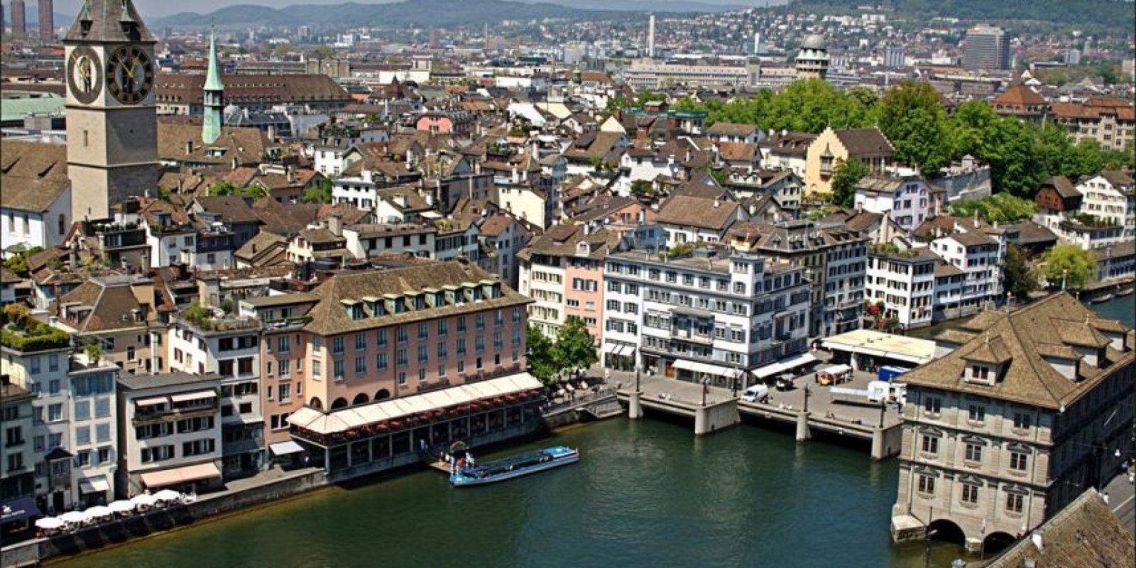 Mundialmente Suiza es la ciudad más conveniente para envejecer. Foto:Vía Wiki