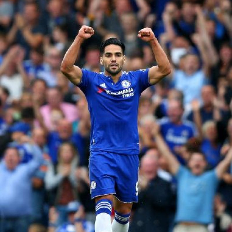 4. Radamel Falcao Foto: Getty Images