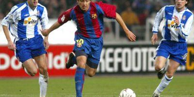 Llegó al Barcelona sin ser pedido por Van Gaal. En un inicio jugó, pero después fue apartado del plantel titular. Foto:Getty Images