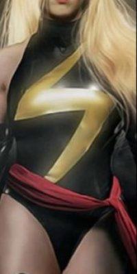 Ms. Marvel o Captain Marvel Foto:Twitter