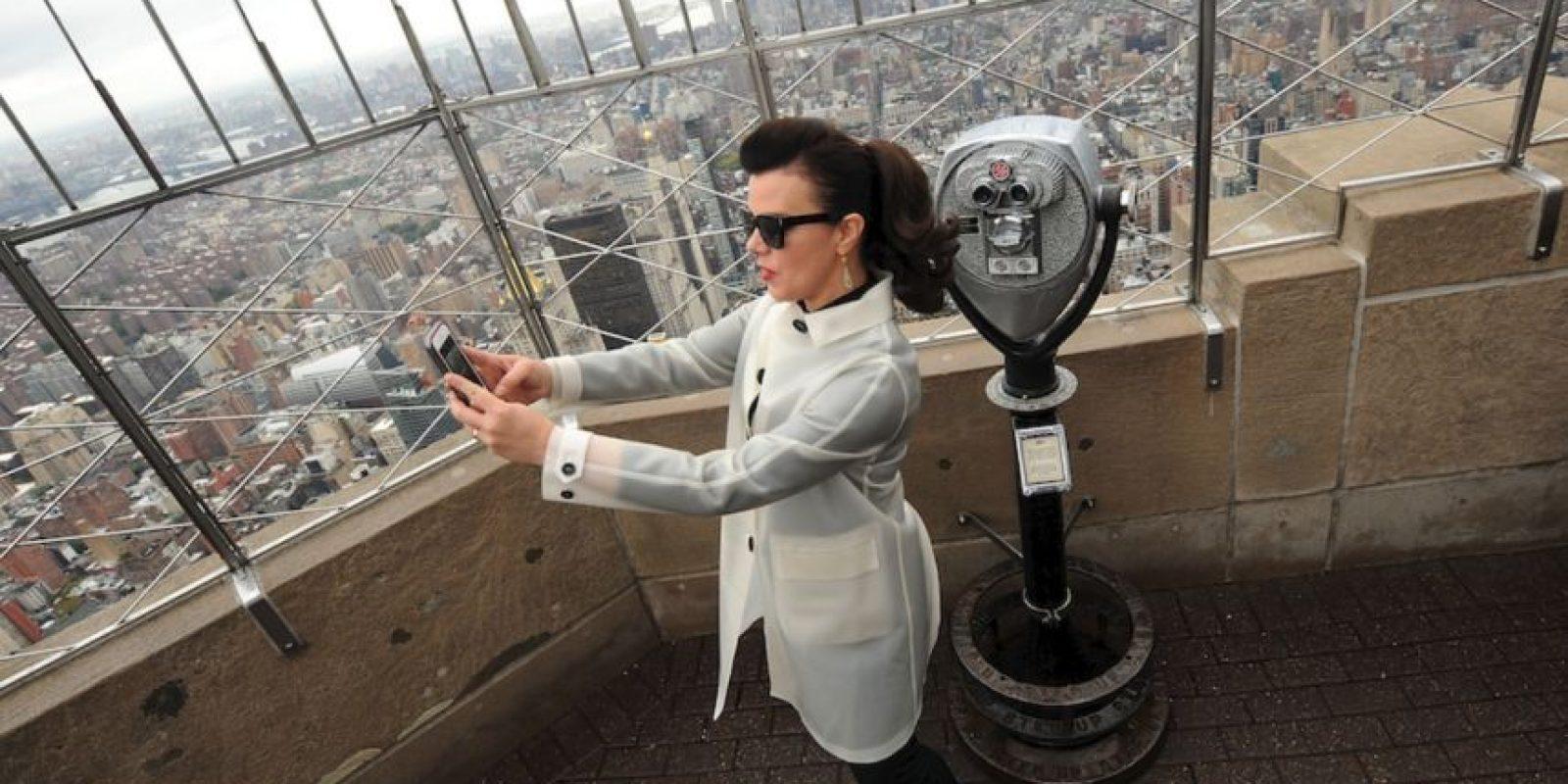 Está ubicado en Nueva York, Estados Unidos, tiene 102 pisos y una altura de 381 metros Foto:Getty Images
