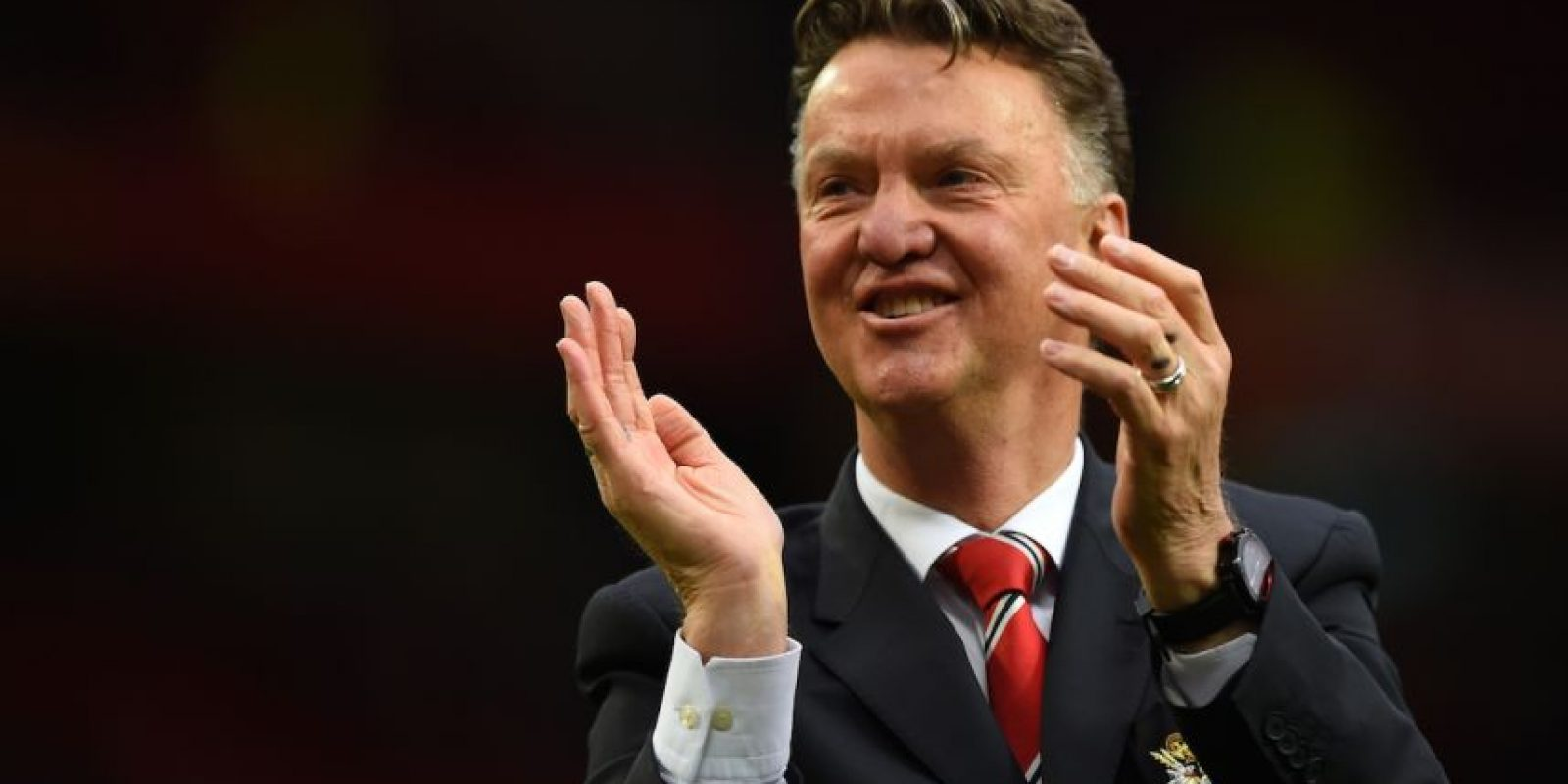 Polémico. Ese es el adjetivo ideal para describir al director técnico Louis van Gaal. Foto: Getty Images