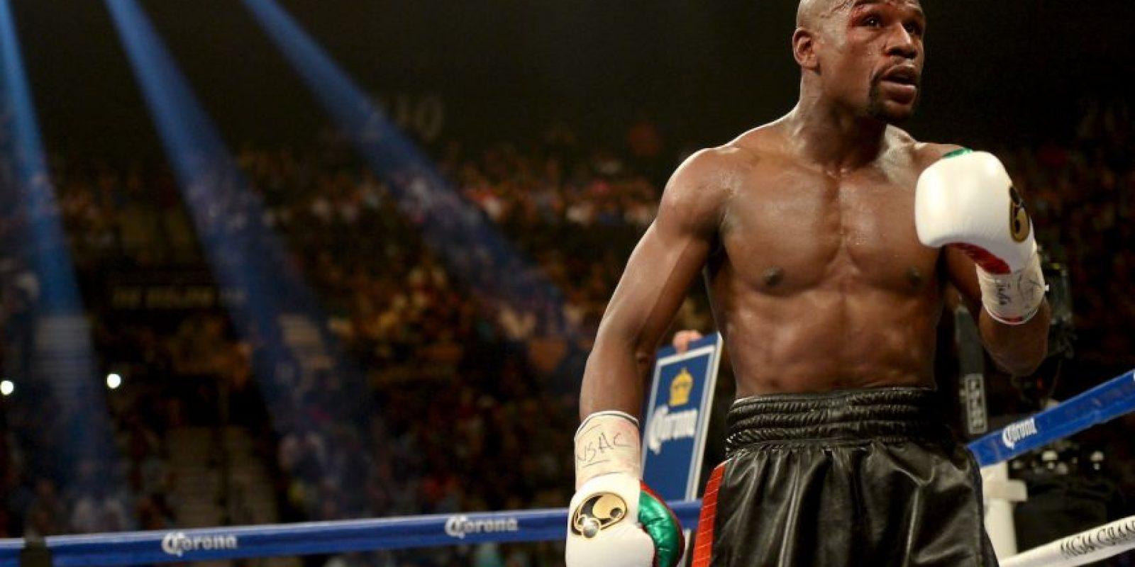 Floyd dijo que esta noche será su última pelea Foto:Getty Images