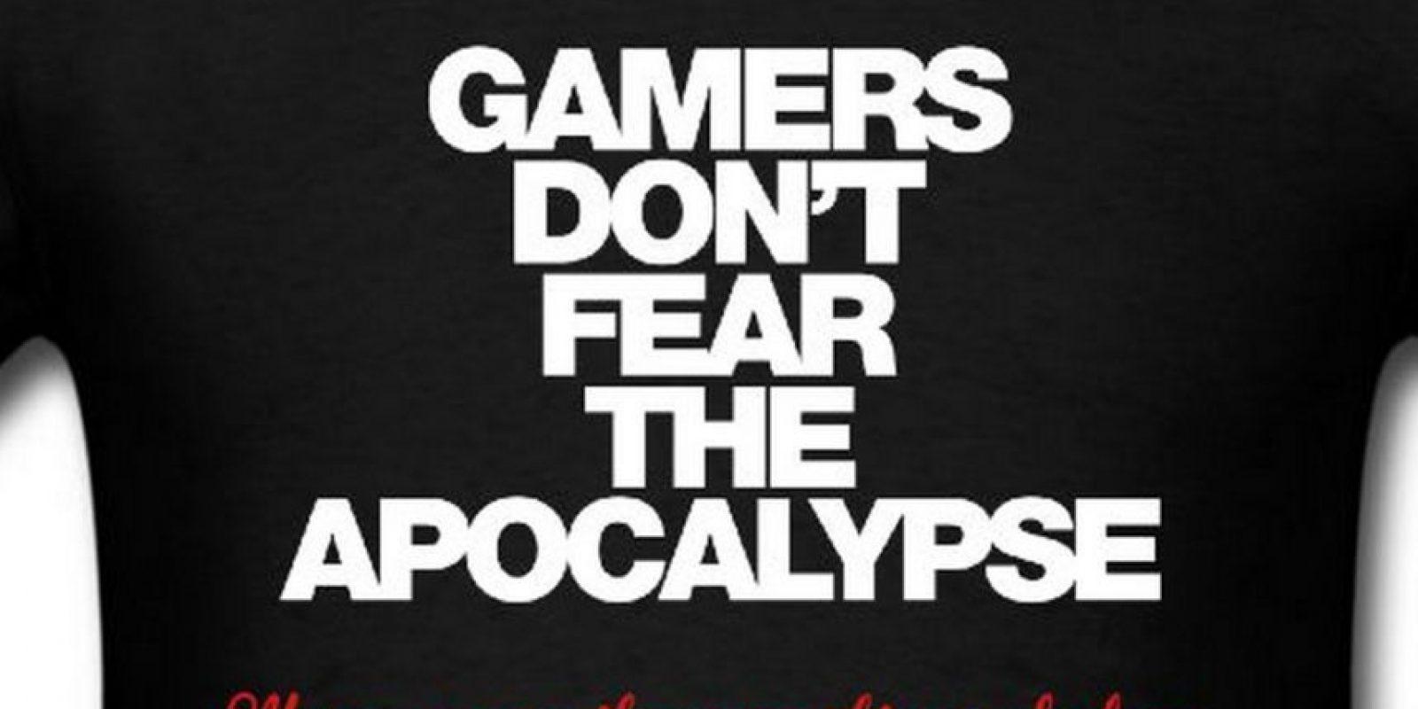 """""""Los 'gamerss' no temen al apocalipsis, lo han visto muchas veces antes"""" Foto:Vía """"gameinformer.com"""""""