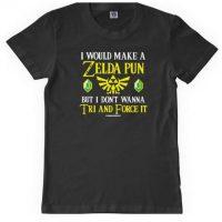 """""""Me gustaría hacer un juego de palabras de Zelda, pero no quiero intentarlo ni forzarlo"""" El juego de palabras está en las palabras Tri y Force que aluden a la Trifuerza Foto:Vía """"gameinformer.com"""""""