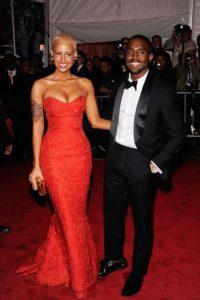 En una gala con Amber. Foto:Getty Images