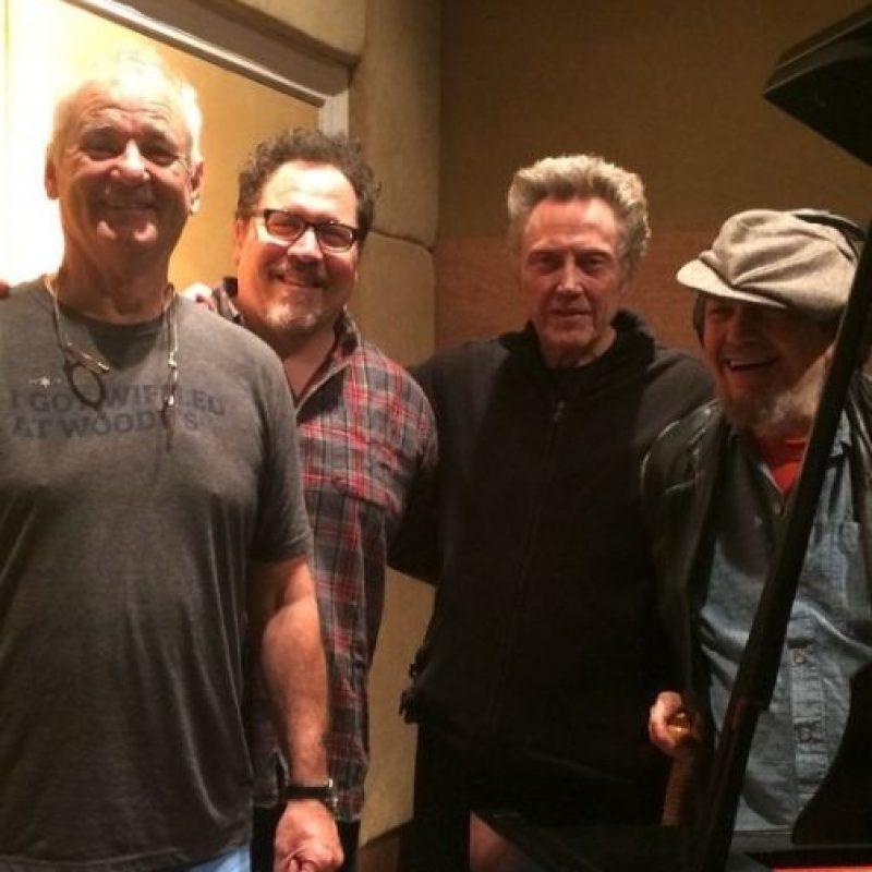 Bill Murray en el set de grabación Foto:vía instagram.com/jonfavreau
