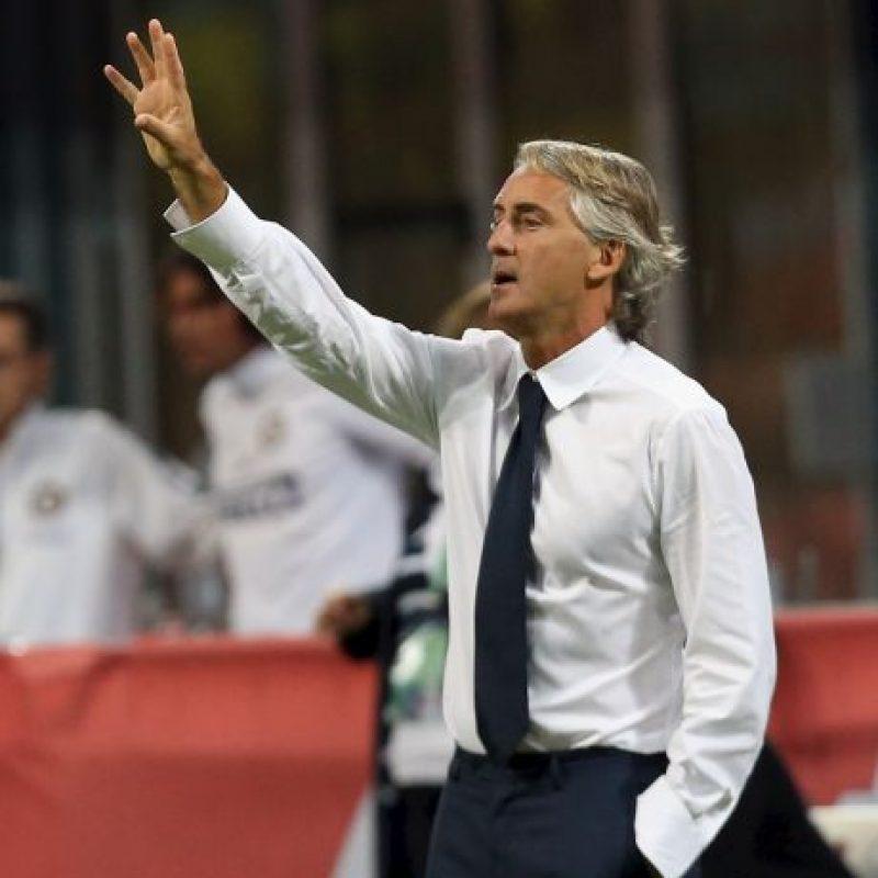 Roberto Mancini es el DT del Inter Foto:Getty Images